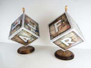 Alphabet Box Travel Globes